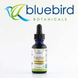 Bluebird Botanical CBD oil