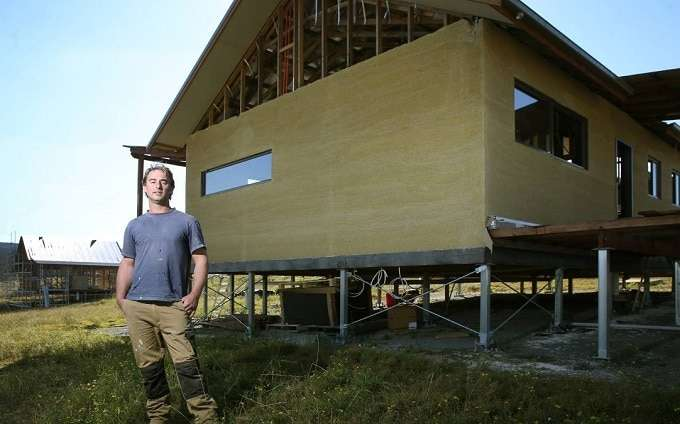 Building Home From Hemp