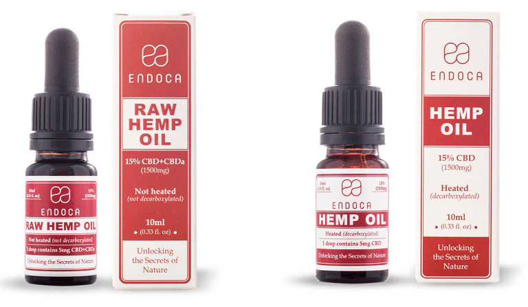 Endoca Hemp Oils