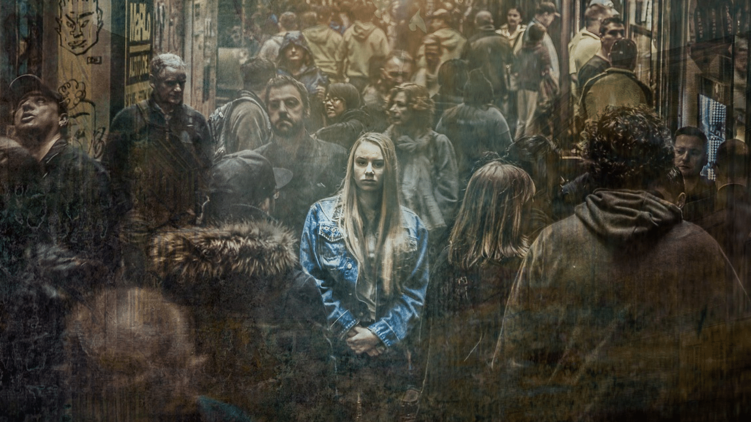 anxiety-girl-isolated-crowd