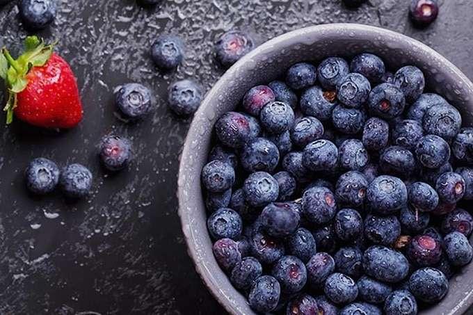 Bowl Full Of Acai Berries