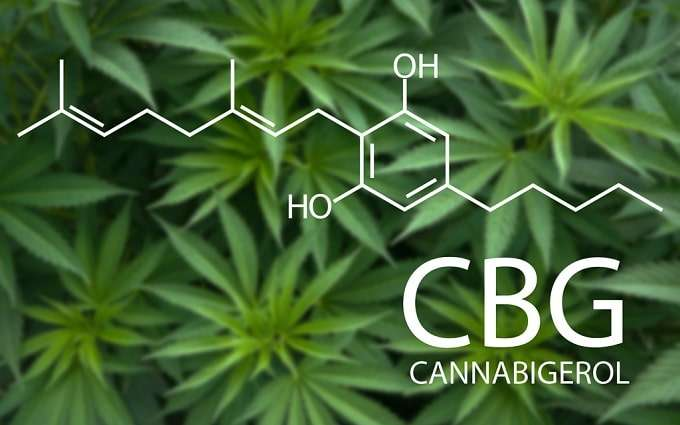 Illustration Of CBG Molecule