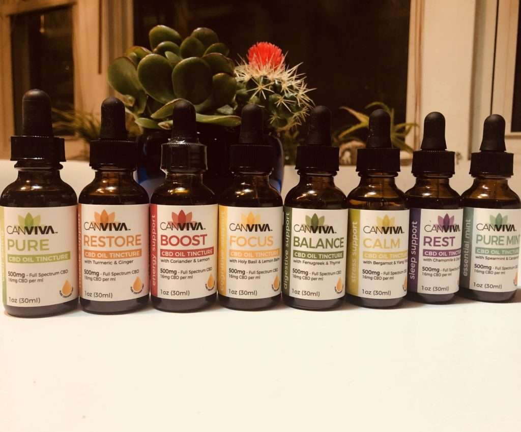 Canviva CBD Products