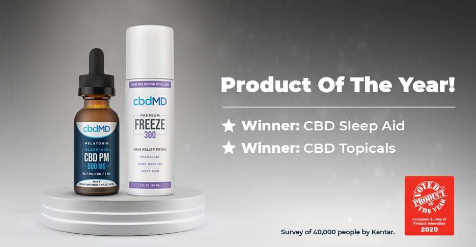 cbdMD Product of the Year