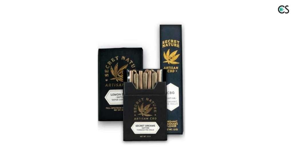 secret nature cbd products