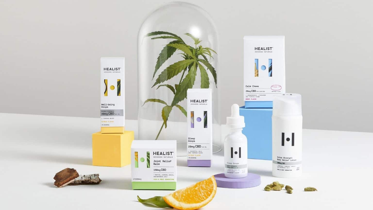 healist cbd products with terpenes