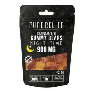pure relief nighttime gummy