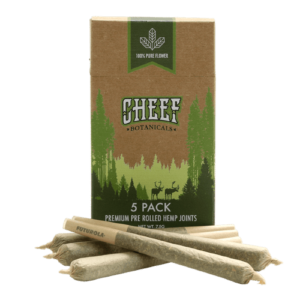cheef botanicals pre-rolls