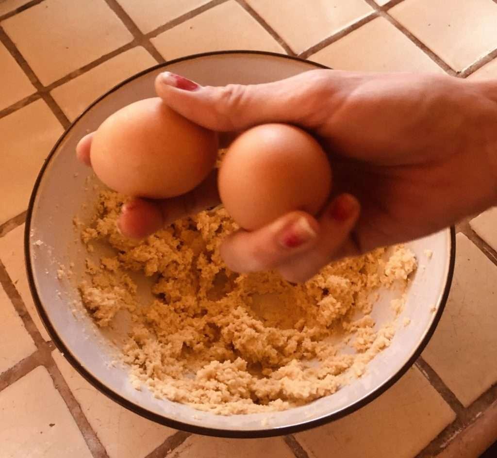 CBD cookies eggs