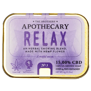 brothers apothecary relax blend