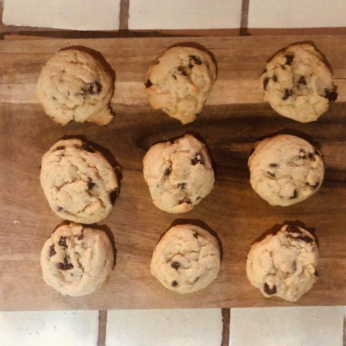 CBD cookies pan